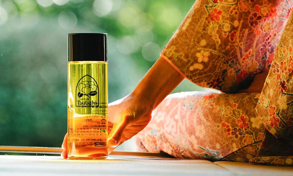 爪にも椿油。ネイルにも椿油。